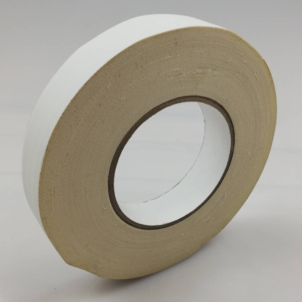 25mm x 50mtr gaffer tape - white side on