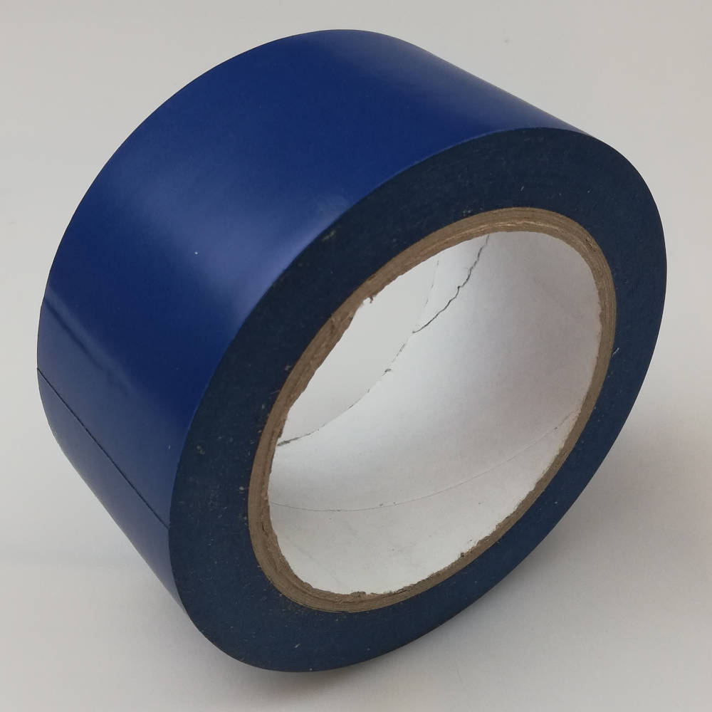 50mm x 33 Metres PVC Floor Marking Tape - Blue