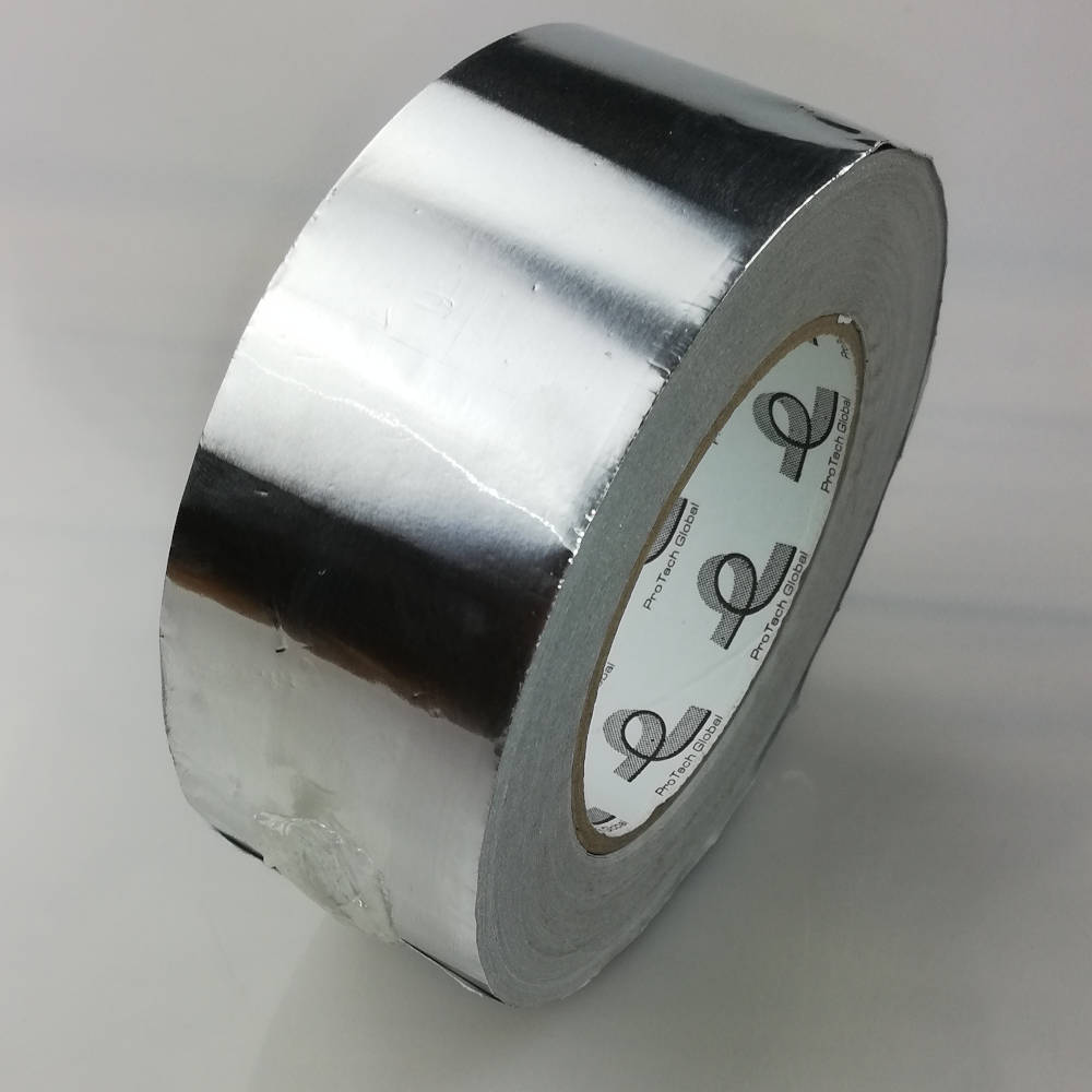 50mm x 50 Metre 30 Micron (1.2 mils) Cold Weather Aluminium Foil Tape