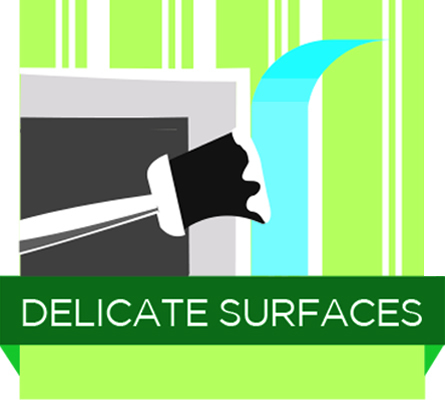 Delicate Surfaces