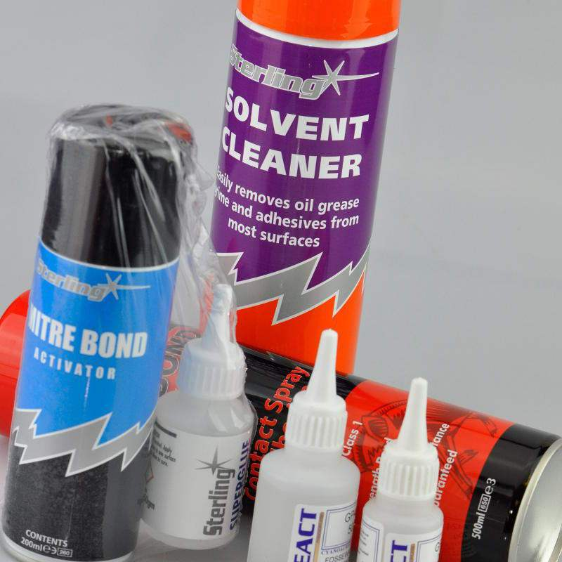 Image of Contact Adhesives, Liquid Cement & Spray Adhesives