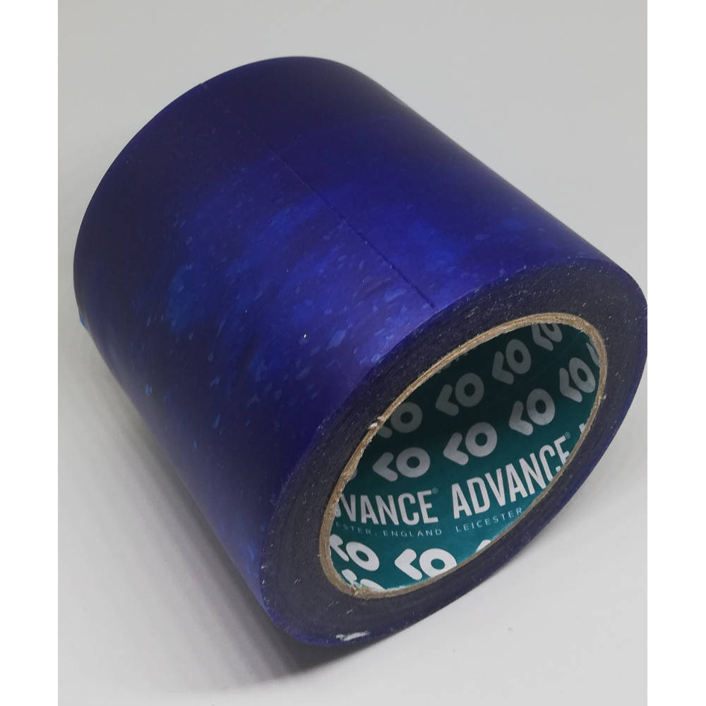 100mm x 33 Metre Translucent Blue PVC Protection Tape 1