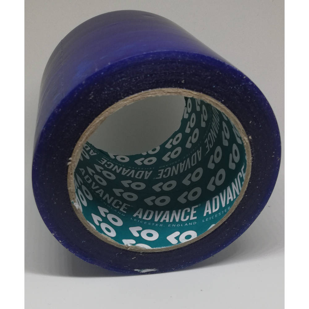 100mm x 33 Metre Translucent Blue PVC Protection Tape 2