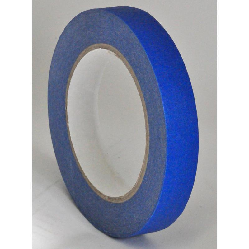19mm x 50 Meters 14 Day Blue Outdoor Paper Masking Decorators Tape