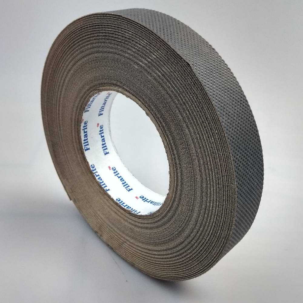 Roll of 25mm x 33 Metres Filter Tape For 16mm Polycarbonate Sheet standing up