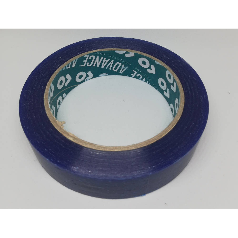 25mm x 33 Metre Translucent Blue PVC Protection Tape 4