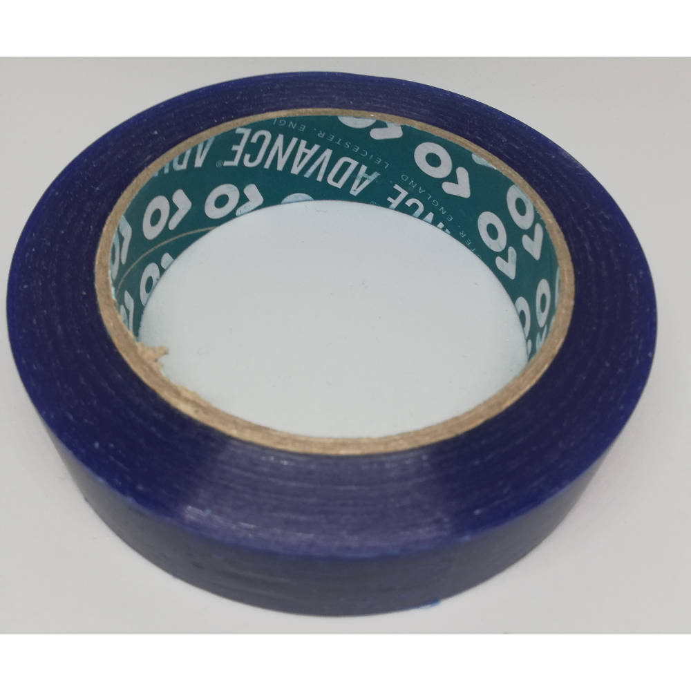 25mm x 33 Metre Translucent Blue PVC Protection Tape 5