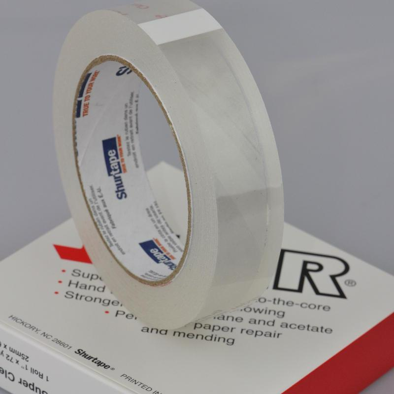 25mm x 66 Metre Single sided transparent tape
