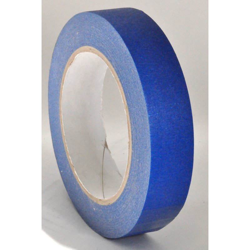 25mm x 50 Meters 14 Day Blue Outdoor Paper Masking Decorators Tape