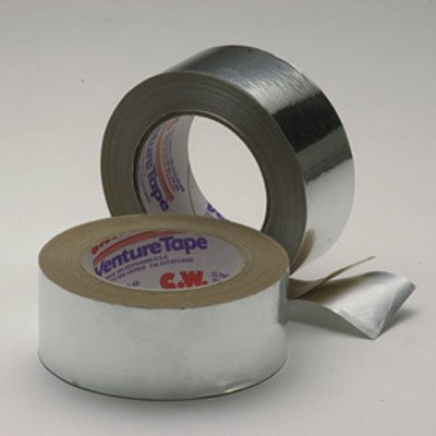 50mm x 50 Metre 30 Micron (1.2 mils) Cold Weather Aluminum Foil Tape