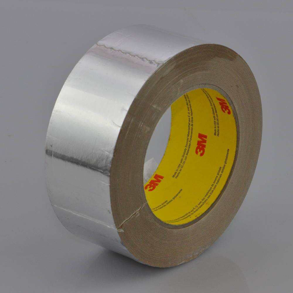 Roll of 30 Micron (1.2 mils) Cold Weather Aluminium Foil Tape