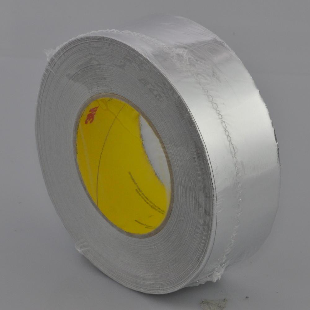 50mm x 50 Metre High Temperature Cold Weather Aluminium Flue Pipe Foil Tape