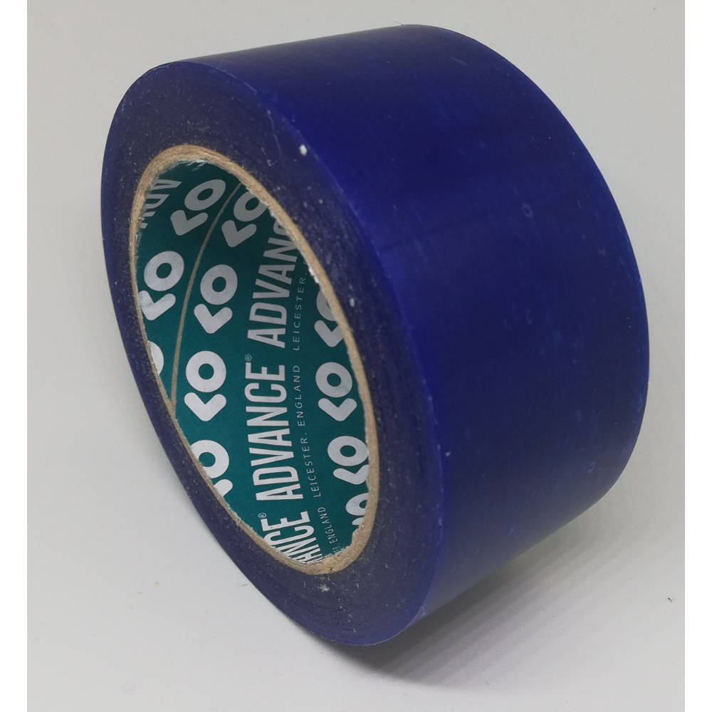 50mm x 33 Metre Translucent Blue PVC Protection Tape 4