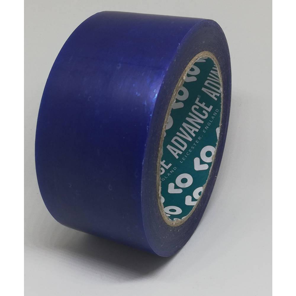 50mm x 33 Metre Translucent Blue PVC Protection Tape 1