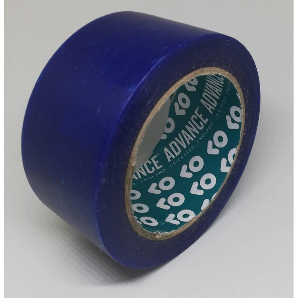 50mm x 33 Metre Translucent Blue PVC Protection Tape 2