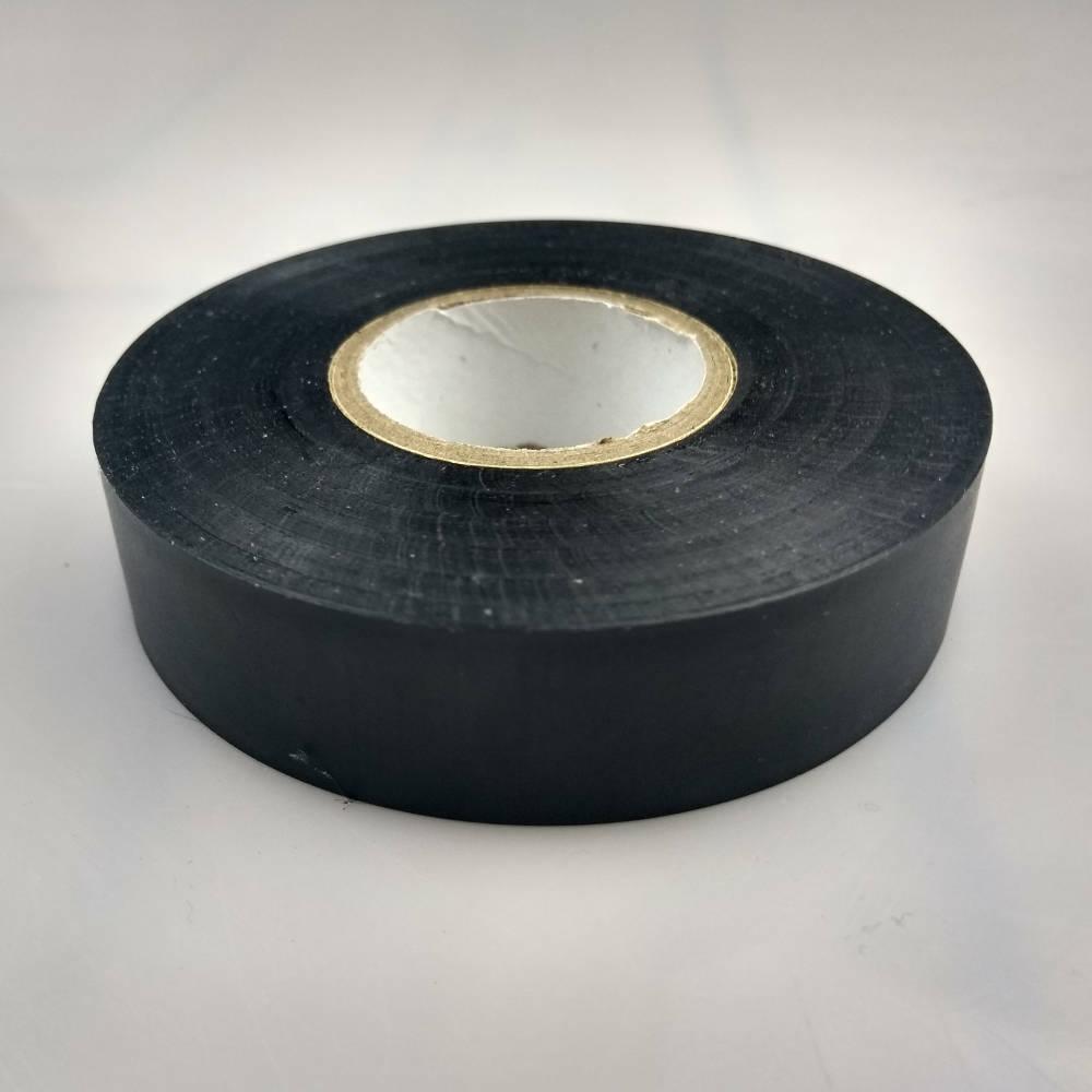 Black PVC Electrical Tape flat down