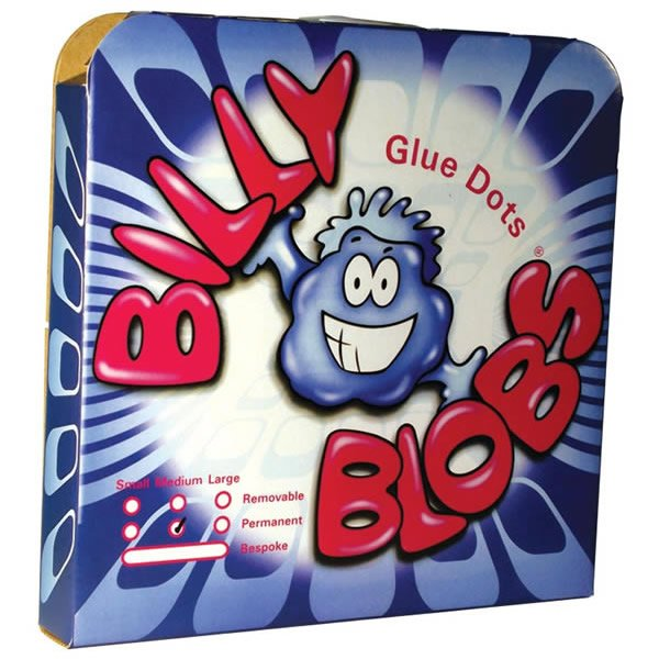 4000 10mm Permanent Billy Blob Glue Dots
