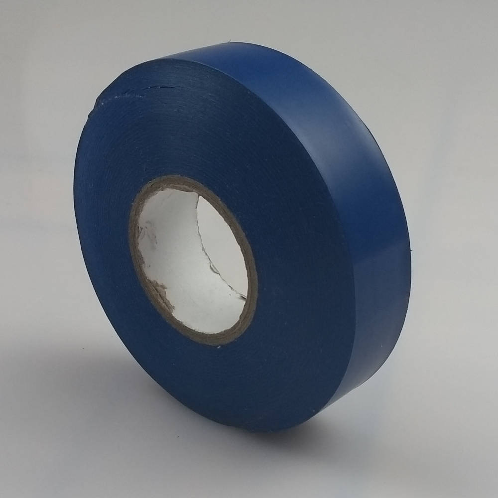 Blue PVC Electrical Tape pointing to the right