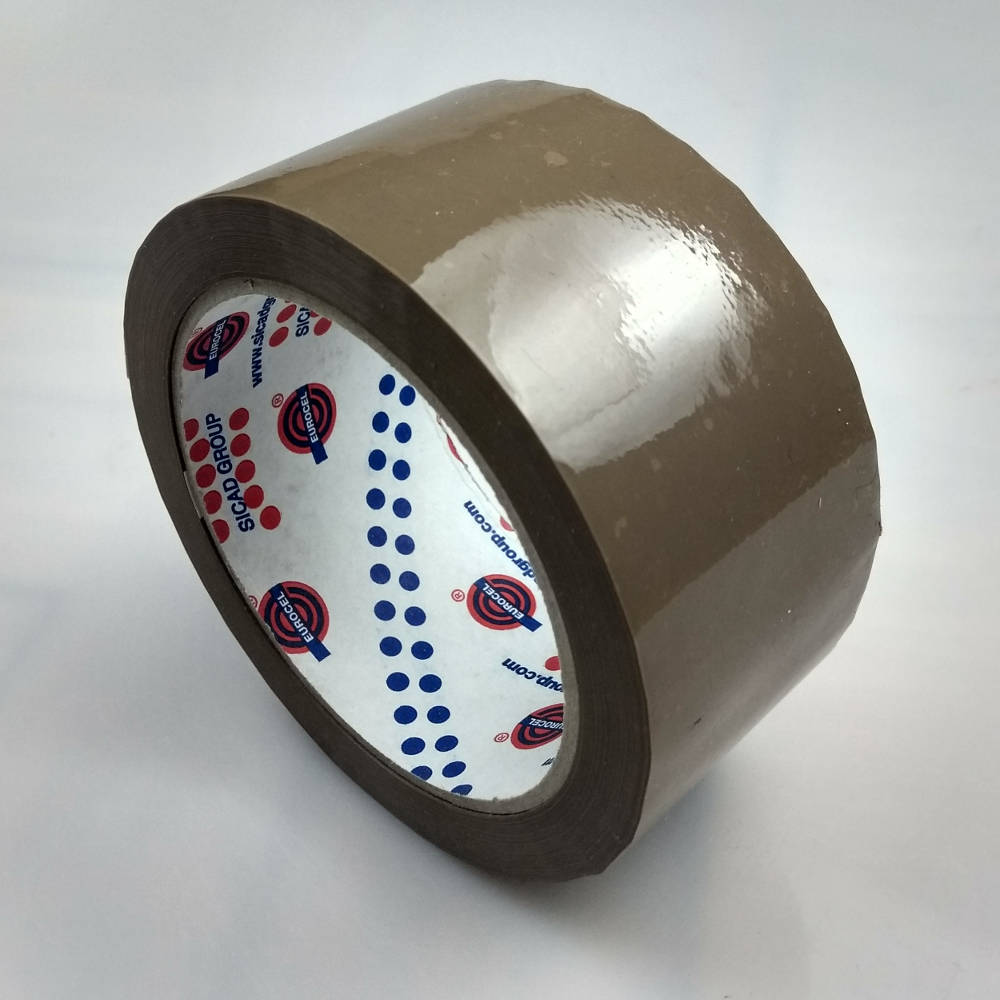 Silver box tape 50mm