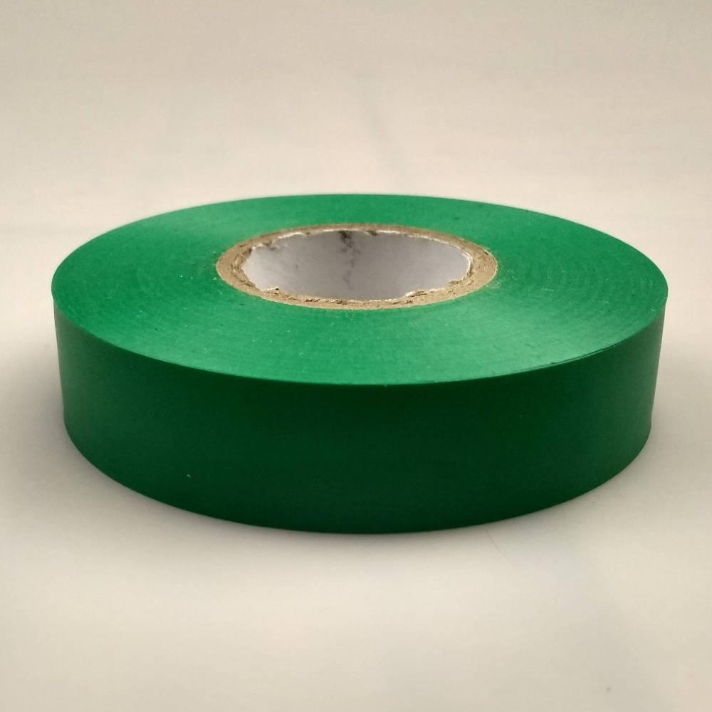 Green PVC Electrical Tape flat down
