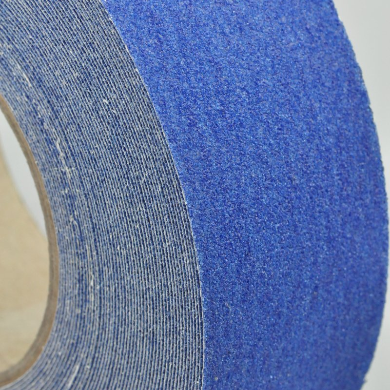 Blue anti slip tape - side on