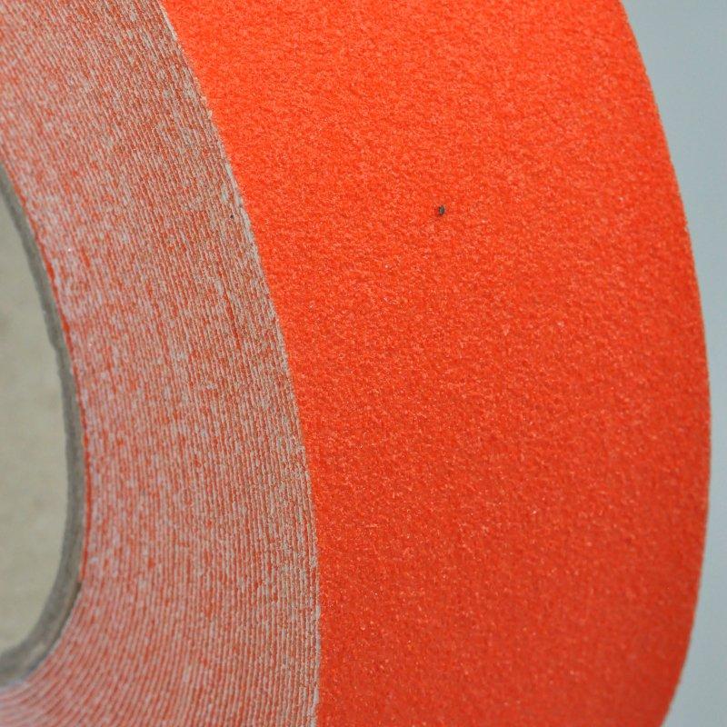 Orange anti slip tape side on