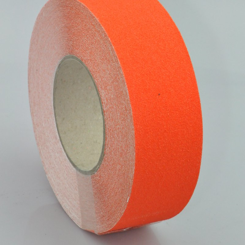 Orange anti slip tape