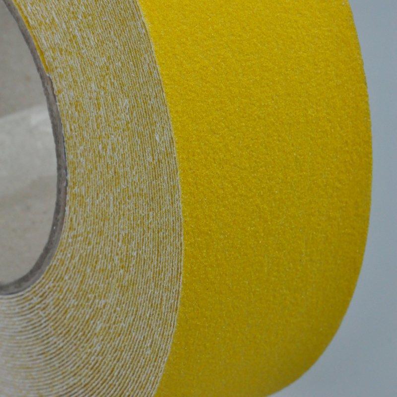 Yellow anti slip tape - side on
