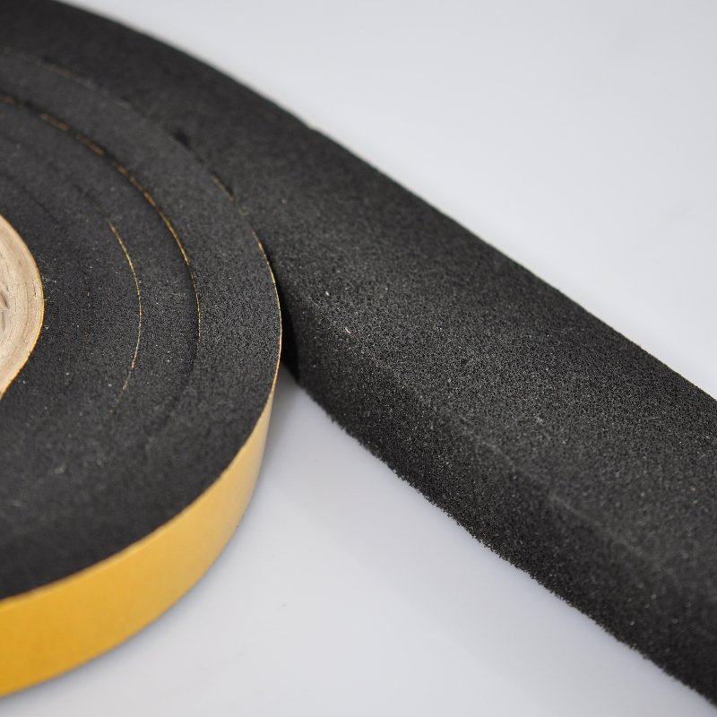 10-18mm x 20mm X 3 Metres Expanding Foam Tape with tape showing