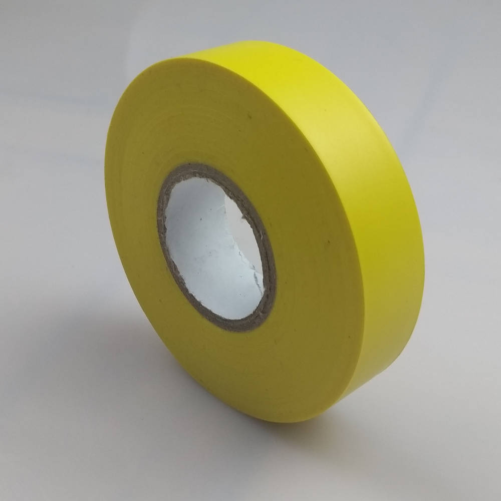 Yellow PVC Electrical Tape pointing to the right